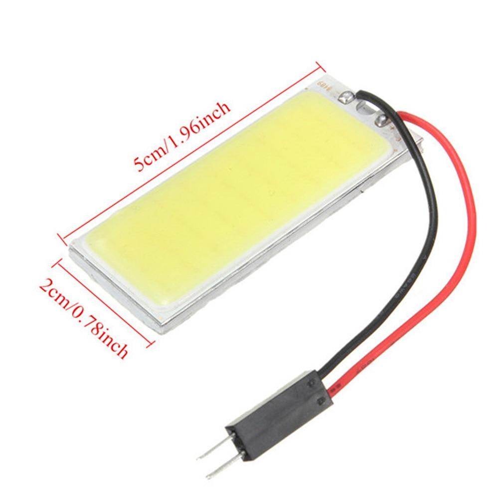 COB 36 LED 12V COB LED Panel with Light Adapters size