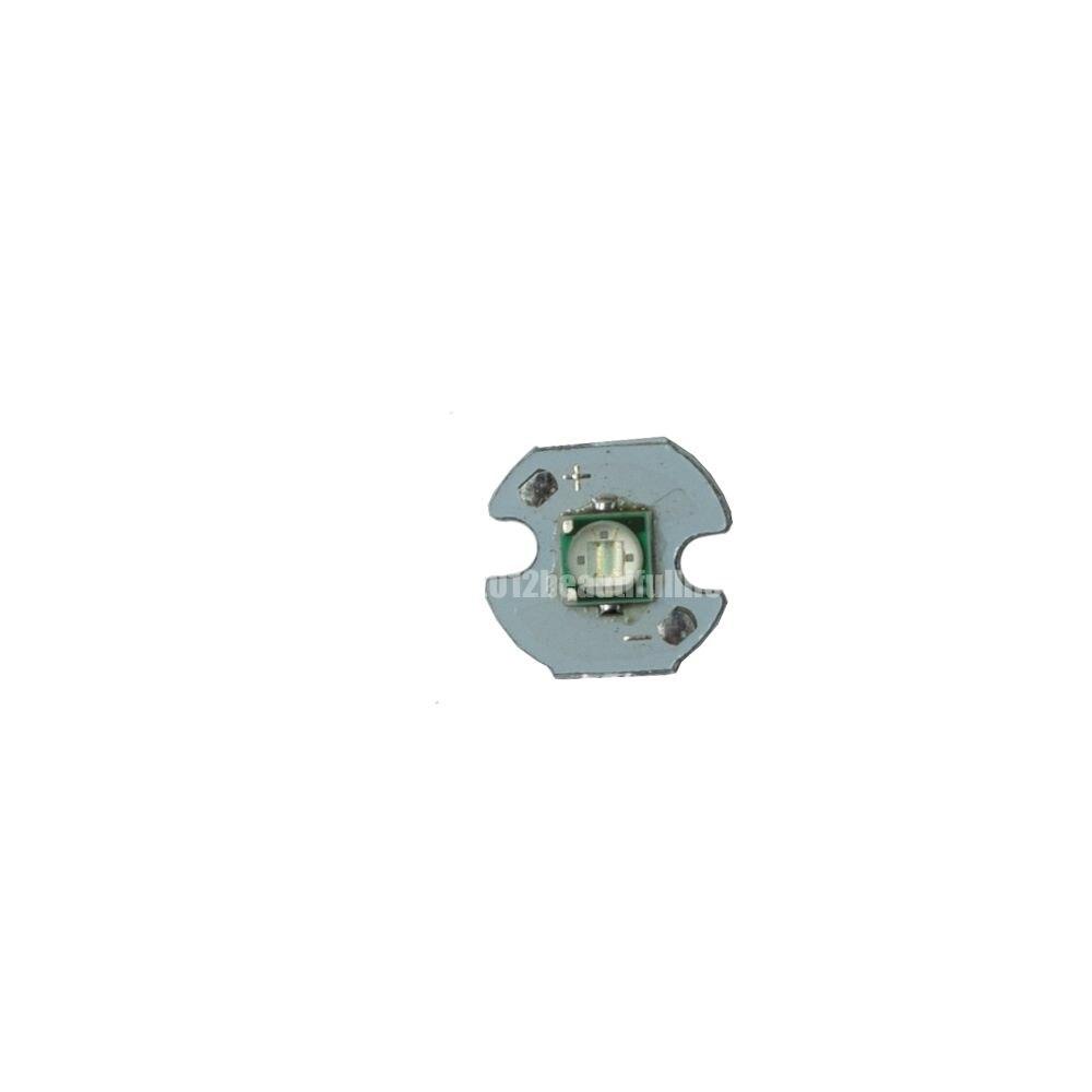 10pcs 3W Cyan 490nm 3535 High Power Led on 8mm 10mm 12mm 16mm 20mm aluminum pcb