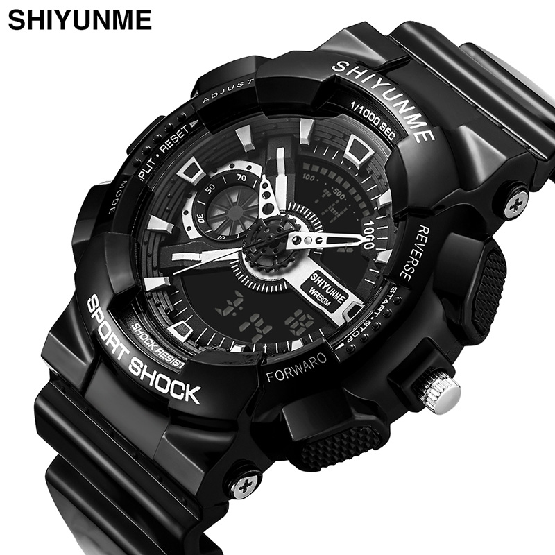 Waterproof Watch Digital Sport Clock Military-Alarm Men's Brand Relogio Male Masculino