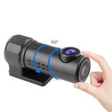 Auto Mini HD 1080P Dash Cam Car DVR Tachograph Traffic Recorder Rearview Mirror WiFi Hidden 170 Degree Wide Angle