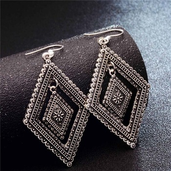 Fashion Metal Dangle Earrings Earrings Jewelry Women Jewelry Metal Color: GA726
