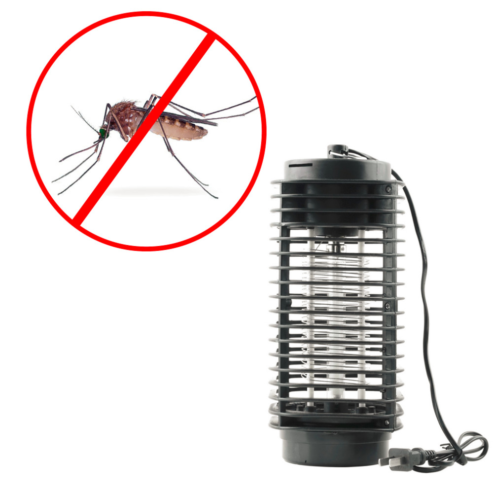 2018 New 110v/220v Electronic Bug Zapper Led Lamp Mosquito Insect Killer Electric Pest Moth Wasp Fly Repellent Eu/us Plug Home & Garden Pest Control