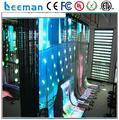 Leeman полноцветный SMD Мягкая сетка светодиодный экран, мягкая сетка светодиодный дисплей Гибкие СВЕТОДИОДНЫЕ Занавес/мягкий фона видео светодиодный занавес