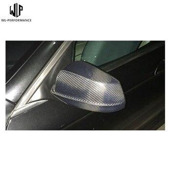 עבור BMW 5 סדרת F10 F18 סיבי פחמן מראה אחורית כיסוי מראה אחורית רכב גוף ערכת 2011-2013 רכב סטיילינג שימוש