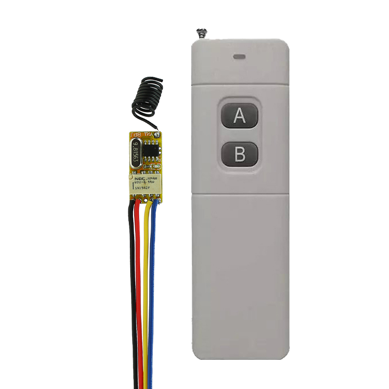 Small Volume Relay Receiver DC 3.6V 3.7V 4.8V 5V 6V 9V 12V Mini Remote Control Switch Micro Power Long Distance transmitter dc 3 5v 12v mini relay switch 2 receiver transmitter