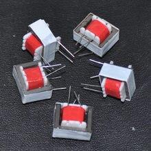 Transformadores de Audio de aislamiento, transformador de llamada de 600 : 600 Ohm, 290MH: 290MH, inductancia 1:1, 20hz-20Khz, frecuencia EI14