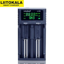 LiitoKala cargador de batería Lii 500 PD4 PL4 402 202 S1 S2 para 18650 26650 21700 AA AAA 3,7 V/3,2 V/1,2 V batería NiMH de litio, novedad