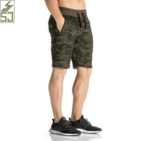 SJ 2016 New Fashion Camouflage Men S Shorts Casual Summer Shorts Bodybuilding Short Pants Gasp