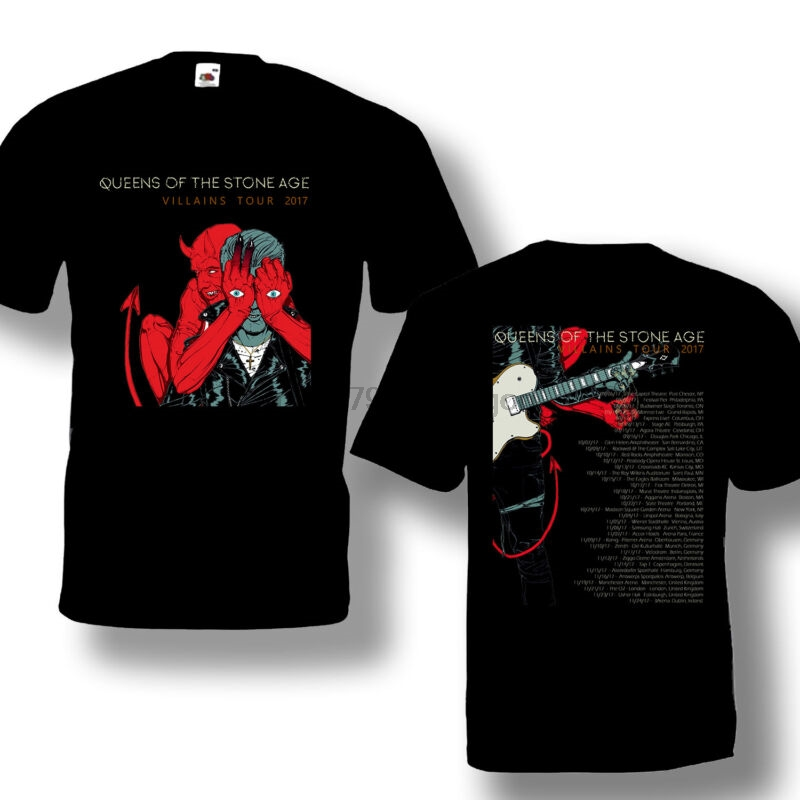 Queens Of The Stone Age /'Villains/' T-Shirt NEW /& OFFICIAL!