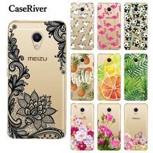 CaseRiver Back Coque 5.2″ Meizu M5S Case Cover Soft TPU Silicone Phone Protective Shell Case Meizu M5S Back Cases Cover