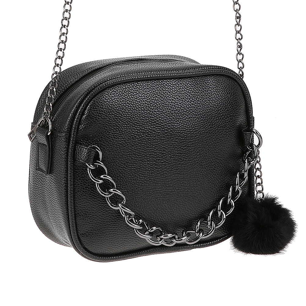 3329a78fe4b 2017 Fashion Women PU Leather Chain Messenger Bag Shoulder Crossbody Bag  with Plush Toy About color  1.All product images were taken in kind.