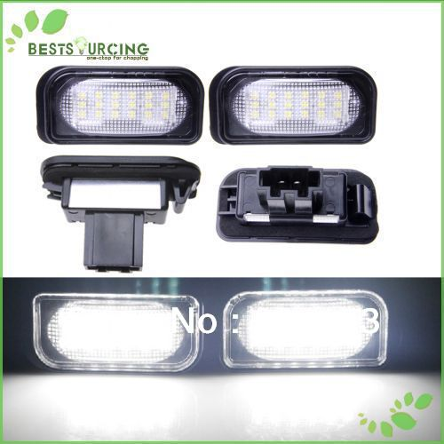Free Shipping Car Auto 18 SMD White LED License Plate Light Lamp for MercedesBenz W203 4D Sedan C CLASS W203 2001-2007 AMG(CA138 заклепочник усиленный gross 40409