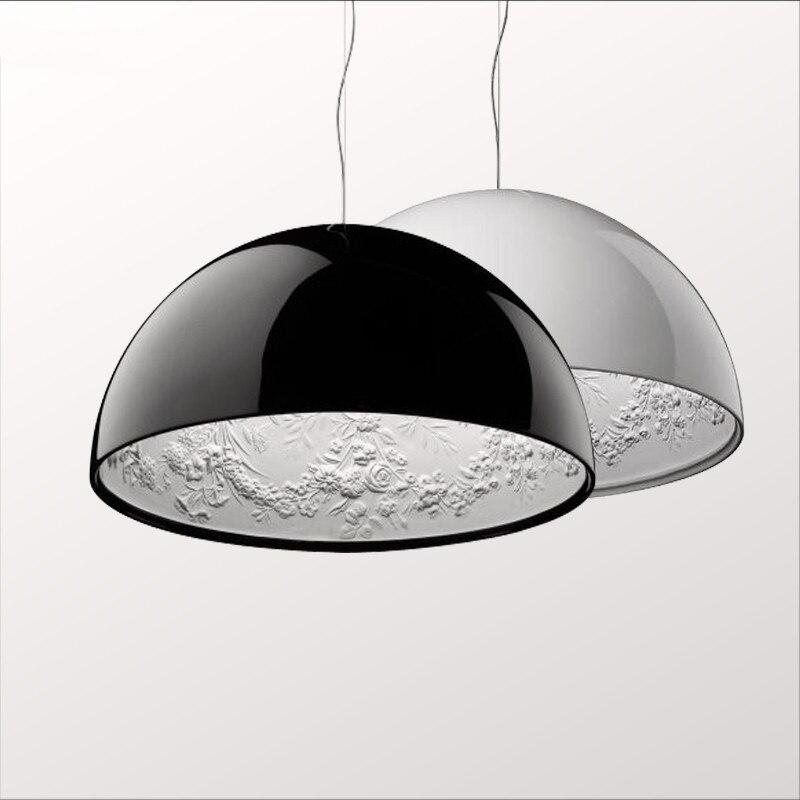 Resina Pingente Céu Jardim Luzes da Sala de Jantar moderna Levou Pingente Lâmpada Quarto Luz Pingente de Sala de estar Pendurado Luminárias