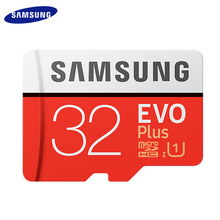 SAMSUNG micro sd 32GB 64GB 128GB 100mb/s TF usb flash memory card microsd EVO Plus class10 Original Product Free shipping