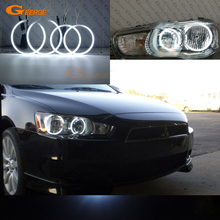 hot deal buy for mitsubishi lancer 2008-2015 non projector excellent ultrabright illumination ccfl angel eyes kit halo ring angel eyes kit