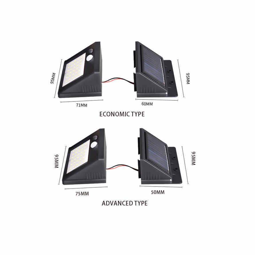 Супер яркий Солнечный 30 светодиодный датчик движения безопасности атмосферостойкий Светильник Солнечный настенный светильник 120 градусов широкий угол движения Солнечный свет