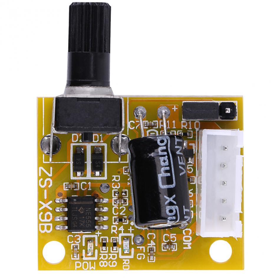 Dc 5v 15v 15w Bldc 3 Phase Brushless Motor Driver Sensorless Speed Controller Kit Control With Electronic In From Home Improvement On