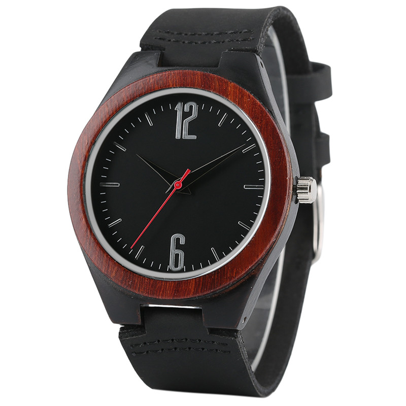Women Watches Novelty Modern Leather-Band Wooden Creative Fashion New-Arrival Quartz
