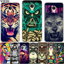VIYISI Forest Animals For Meizu U20 10 M6 5 Note M5S 5C M3s 3Note Pro6 Soft TPU Painted Phone Case Shell Cover Coque