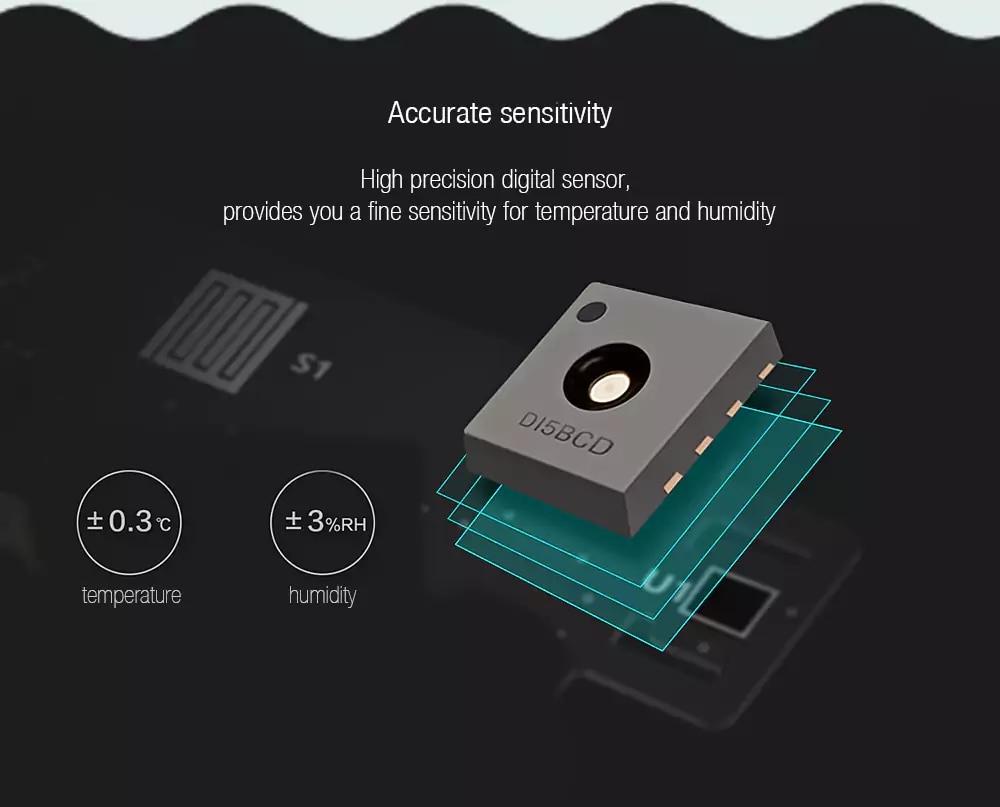 Xiaomi MiaoMiaoCe E-Link INK Screen Display Digital Moisture Meter High-Precision Thermometer Temperature Humidity Sensor H10 (15)