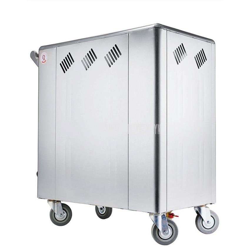Commercial Electric Warm Towel Car High Temperature Sterilizer Steam Humidify Towel Disinfection Cabinet Beauty Salon FootBath