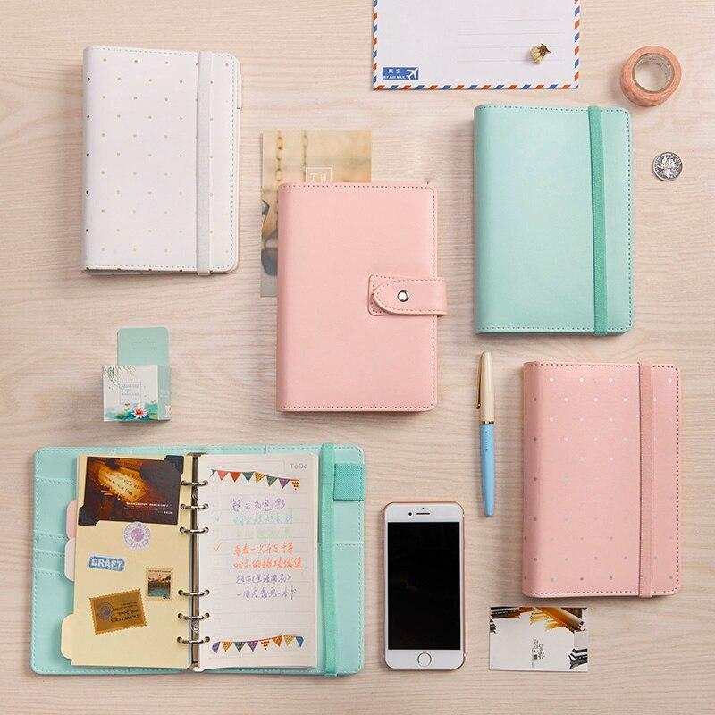 New original macaron series spiral notebooks,cute office personal agenda planner organizer,kawaii traveller diary notebook A5 A6
