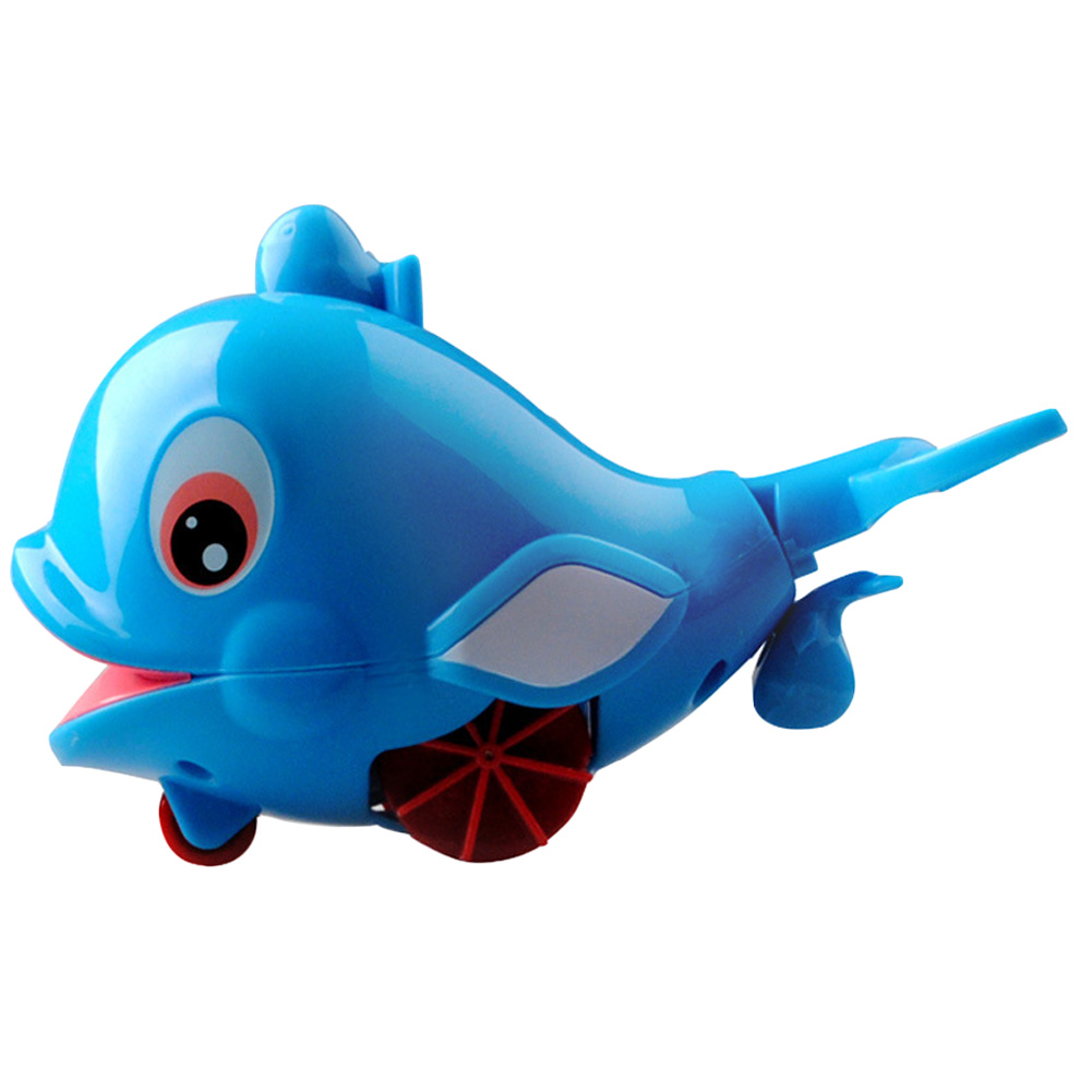 Bath Toy Buddy Dophin: Swimming Toys Little Dolphin, Baby Bath Toys, Pull Spray