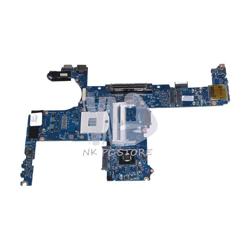 NOKOTION 642759-001 MAIN BOARD For <font><b>Hp</b></font> Elitebook <font><b>8460P</b></font> 8460W Laptop <font><b>Motherboard</b></font> QM67 UMA HD3000 DDR3 image