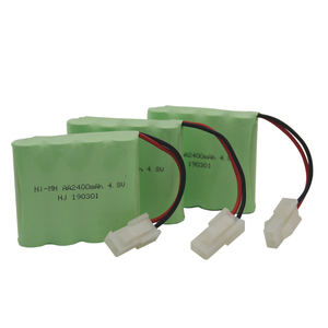 3pcs/packaging 4.8V 2400mAh AA