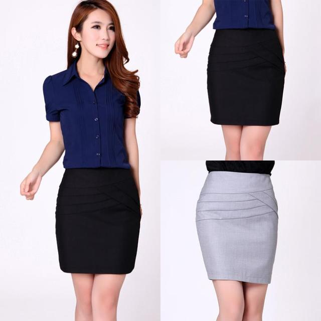 Korean Bag Hip Women Fashion Skirt Size S 2XL High Quality Career ...