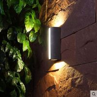 LED outdoor wall lamp courtyard staircase aisle modern minimalist outdoor wall lamp