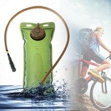 Hydration Bladder Folding 2.5L Water Bag EVA Bagpack Cycling Hiking Climbing Camping