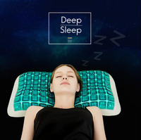 Quality Gel Pillow Slow Rebound Memory Foam Pillows For Sleep Cervical Neck Pillow Medium Hardness