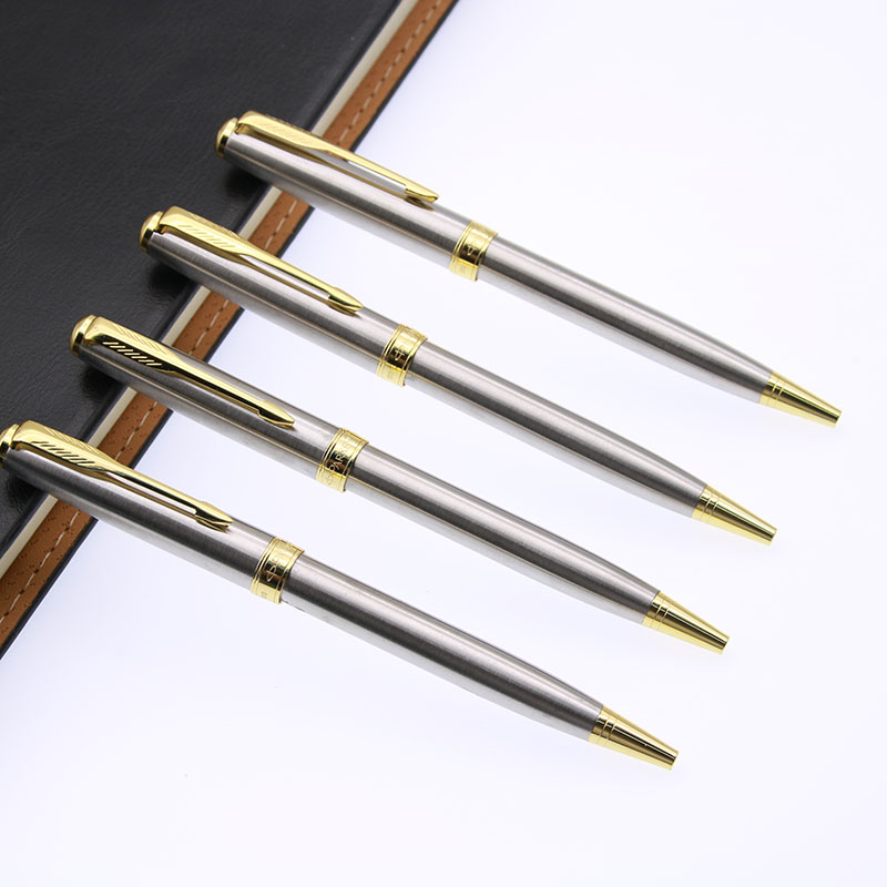 Five Star Hotel Stainless Steel Ballpoint Pens 50 PIECE DEAL NEW CONDITION!