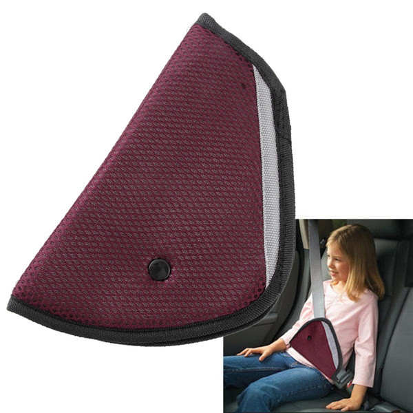 Mini 8 Color car Safe Fit Seat Belt Adjuster car safety belt adjust device baby child protector positioner Breathable