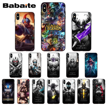for iphone 11pro max Babaite League of legends Design Phone Cover for iPhone 6S 6plus 7 7plus 8 8Plus X Xs MAX 5 5S XR image