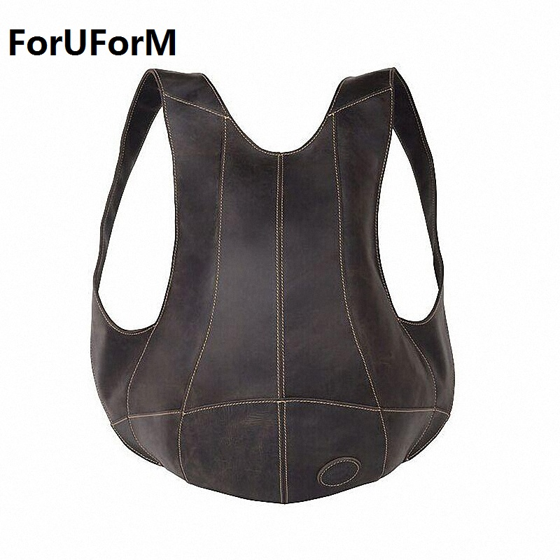 HOT ! Free Shipping College Style Genuine Leather Backpack men Travel Bag School Backpack Pouch Mochila Women Backpack LI-1226 women backpack fashion pvc faux leather turtle backpack leather bag women traveling antitheft backpack black white free shipping