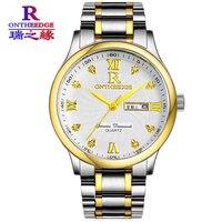 2017 יוקרה חדשה שעונים גברים ספורט גברים מותג שעונים עמיד למים מלא פלדת קוורץ Masculino Relogio שעון של גברים עמיד למים 200 m