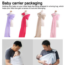 Washable Baby  Infant Sling Wrap Soft Natural Fashion Mother Baby-Carrier 0-2 Yrs Breathable Cotton Nursing Cov