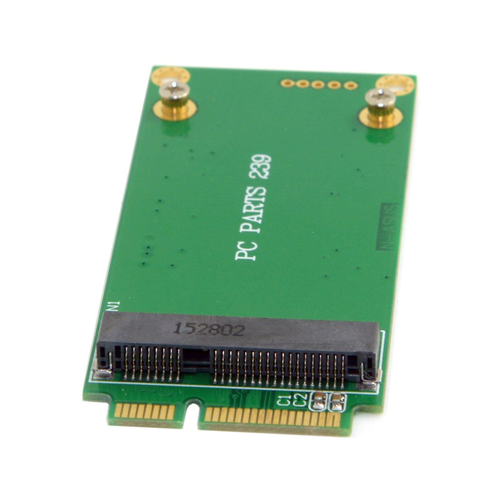 3x5cm mSATA Adapter to 3x7cm Mini PCI-e SATA SSD for Asus Eee PC 1000 S101 900 901 900A T91
