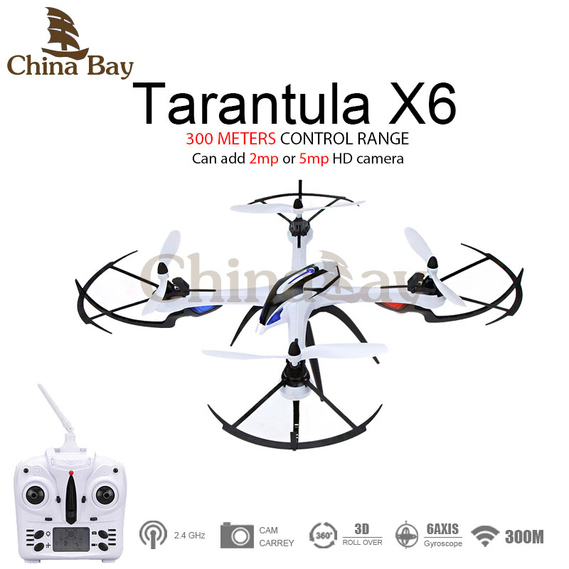 Hot Sale font b Drone b font YiZhan Tarantula X6 JJRC H16 RC Quadcopter With 2mp