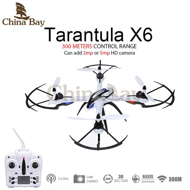 Venda quente! yizhan tarântula x6 h16 jjrc rc quadcopter drone com 2mp ou 5mp hd camera 6-axis 2.4 ghz rtf helicóptero do rc