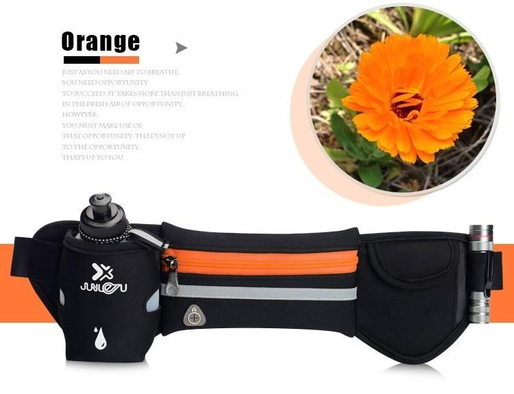 Outdoor Women&Men Hydration Belt For Trail Running Hip Waist Pack Gym Fitness Jogging Waist Bag Water Bottle Sport Accessories 23