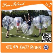 10pcs (5 Red + 5 Blue + 2 Blower) Frete Gratis bola bom amortecedor qualidade, bolha terno de futebol, terno bolha futebol
