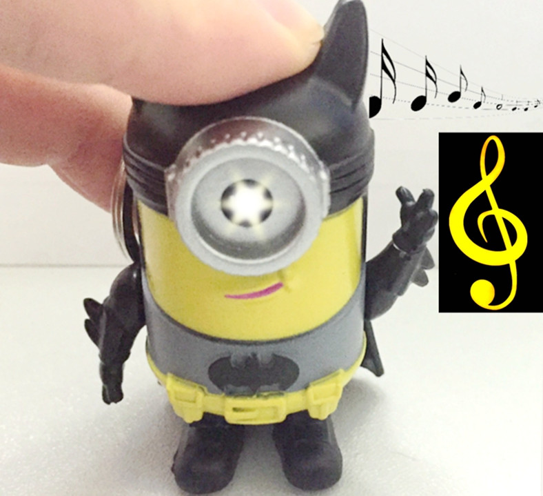 Mixed Lot Of 16 High Safety Desciable Me Minions Necklace And Keychain Party Pack Mixed Items & Lots