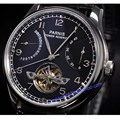 Parnis watch 43mm power reserve Black dial date Automatic Self-Winding movement Men's watch 20