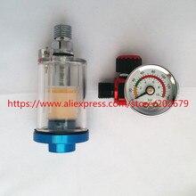 Scratch Spray Gun Air Manometer & In Line Wasserfalle Filter Werkzeug Spritzpistole Regler Und Mini Spray gun Air Filter