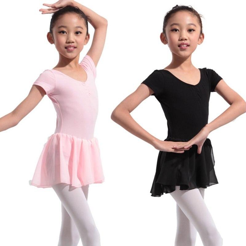 2e93ae3f2 Leotardo de gimnasia para niñas vestido de Ballet niños leotardo tutú Ropa  de baile disfraces Leotardos de Ballet para Niñas Ropa de bailarina