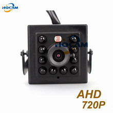 720P Mini AHD camera Night Vision camera 10pcs IR 940nm lens 1.0megapixel AHD Camera CCTV AHD mini camera Metal Housing Indoor