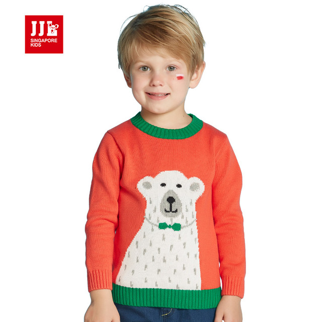 orange boys sweater o neck todder boys pullover christmas kids clothes children sweater baby clothing kids clothes 2016 fashion